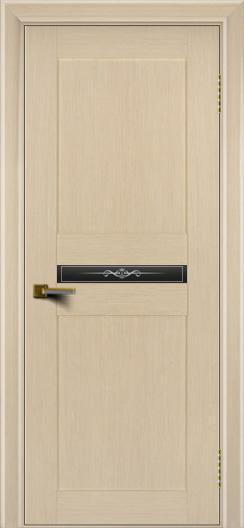 Двери ЛайнДор Кристина беленый дуб тон 16 стекло Кристина малое