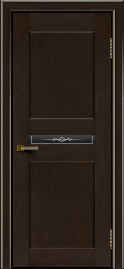 Двери ЛайнДор Кристина венге тон 12 стекло Кристина малое
