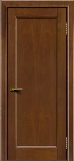 Двери ЛайнДор Мальта американский орех тон 23 глухая
