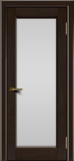 Двери ЛайнДор Мальта венге тон 12 стекло белое