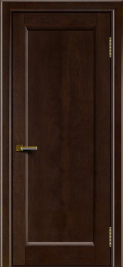 Двери ЛайнДор Мальта красное дерево тон 18 глухая