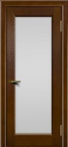 Двери ЛайнДор Мальта тон 30 стекло белое