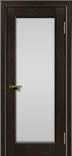 Двери ЛайнДор Мальта тон 31 стекло белое