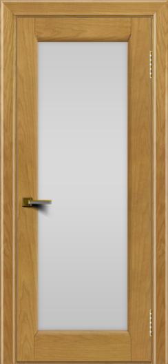 Двери ЛайнДор Мальта ясень тон 24 стекло белое