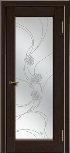 Двери ЛайнДор Мальта 2 тон 12 стекло Астра наливка
