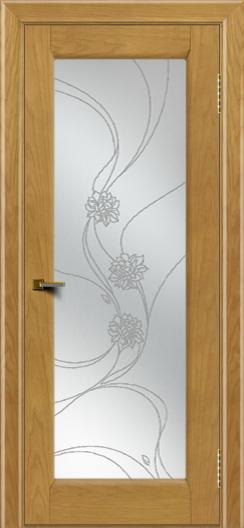 Двери ЛайнДор Мальта 2 тон 24 стекло Астра наливка