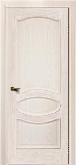 Двери ЛайнДор Оливия ясень жемчуг тон 27 глухая
