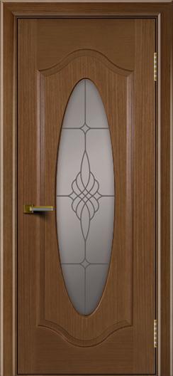 Двери ЛайнДор Орбита дуб тон 5 стекло Бронза
