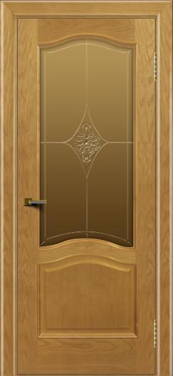Двери ЛайнДор Пронто ясень тон 24 стекло Амелия бронза