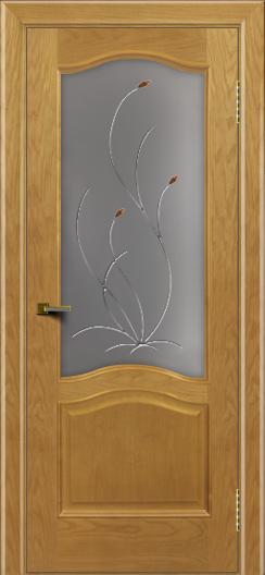 Двери ЛайнДор Пронто ясень тон 24 стекло Ковыль