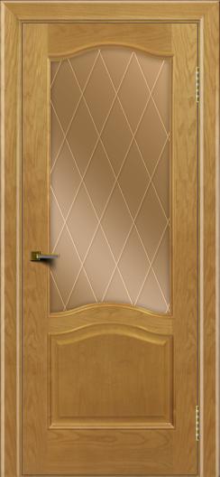 Двери ЛайнДор Пронто ясень тон 24 стекло Лондон бронза
