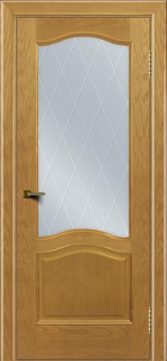 Двери ЛайнДор Пронто ясень тон 24 стекло Лондон