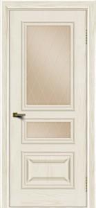 Двери ЛайнДор Агата тон 36 стекло Лондон бронза