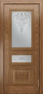 Двери ЛайнДор Агата тон 45 стекло Версаль