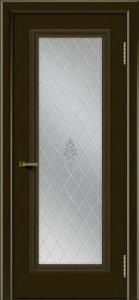 Двери ЛайнДор Валенсия тон 35 стекло Лилия