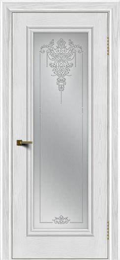 Двери ЛайнДор Валенсия тон 38 стекло Версаль