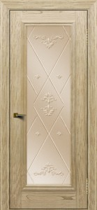 Двери ЛайнДор Валенсия тон 40 стекло Прима бронза