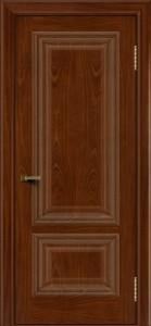 Двери ЛайнДор Виолетта красное дерево тон 10 глухая