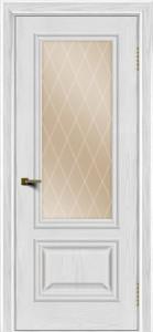 Двери ЛайнДор Виолетта тон 38 стекло Лондон бронза