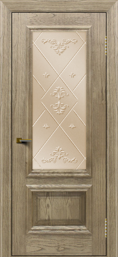 Двери ЛайнДор Виолетта тон 41 стекло Прима бронза