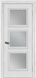 Двери ЛайнДор Грация тон 38 стекло Лондон