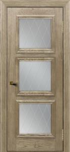 Двери ЛайнДор Грация тон 41 стекло Лондон