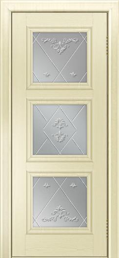 Двери ЛайнДор Грация тон 42 стекло Прима