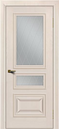 Двери ЛайнДор Агата Жемчуг тон 27 стекло Лондон