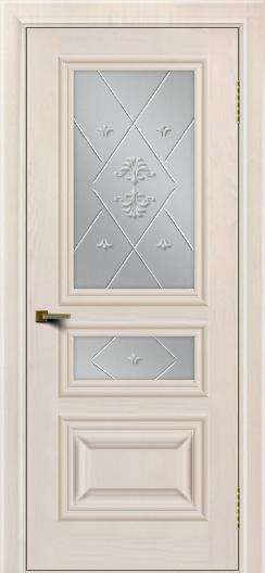 Двери ЛайнДор Агата Жемчуг тон 27 стекло Прима