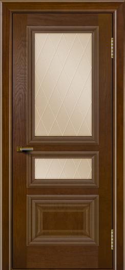 Двери ЛайнДор Агата тон 30 стекло Лондон бронза