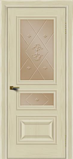 Двери ЛайнДор Агата тон 34 стекло Прима бронза