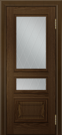 Двери ЛайнДор Агата тон 35 глухая стекло Лондон