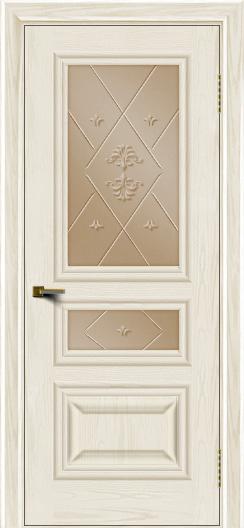 Двери ЛайнДор Агата тон 36 стекло Прима бронза