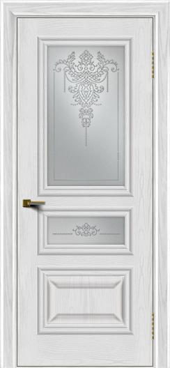 Двери ЛайнДор Агата тон 38 стекло Версаль