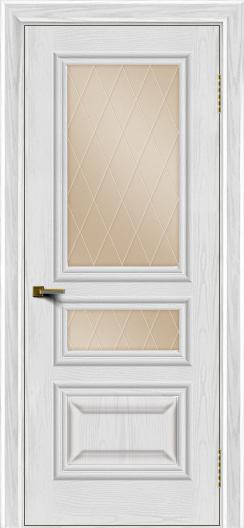 Двери ЛайнДор Агата тон 38 стекло Лондон бронза