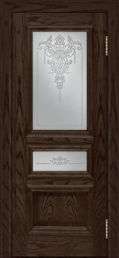 Двери ЛайнДор Агата тон 39 стекло Версаль