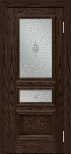 Двери ЛайнДор Агата тон 39 стекло Лилия