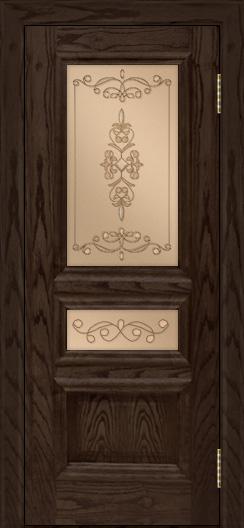 Двери ЛайнДор Агата тон 39 стекло Эрика