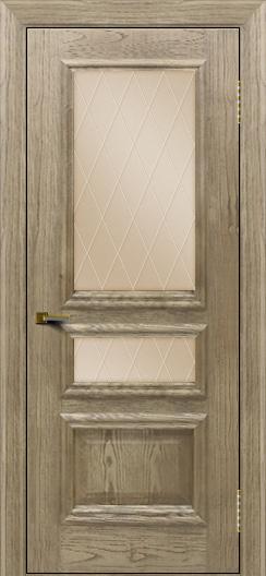Двери ЛайнДор Агата тон 41 стекло Лондон бронза