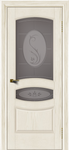 Двери ЛайнДор Алина тон 36 стекло Алина бронза