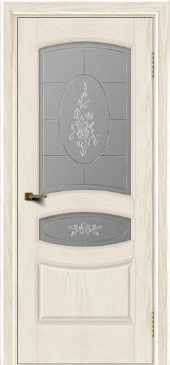 Двери ЛайнДор Алина тон 36 стекло Роза