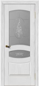 Двери ЛайнДор Алина тон 38 стекло Роза