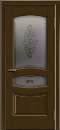 Двери ЛайнДор Алина 2 тон 29 стекло Алина 2