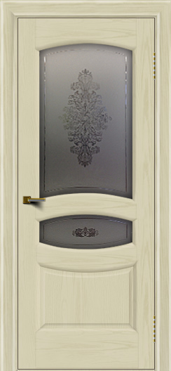 Двери ЛайнДор Алина 2 тон 34 стекло Алина 2
