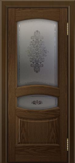 Двери ЛайнДор Алина 2 тон 35 стекло Алина 2