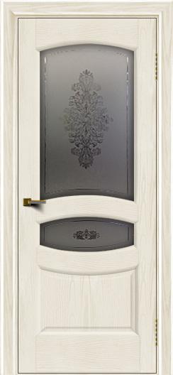 Двери ЛайнДор Алина 2 тон 36 стекло Алина 2