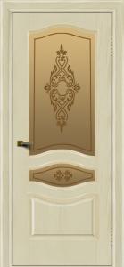 Двери ЛайнДор Амелия тон 34 стекло Айрис