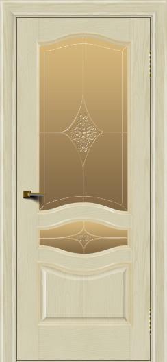 Двери ЛайнДор Амелия тон 34 стекло Амелия бронза