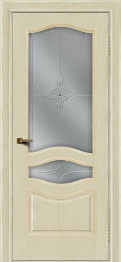 Двери ЛайнДор Амелия тон 34 стекло Амелия