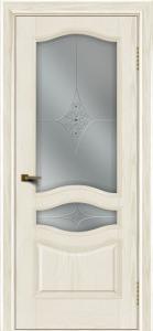 Двери ЛайнДор Амелия тон 36 стекло Амелия